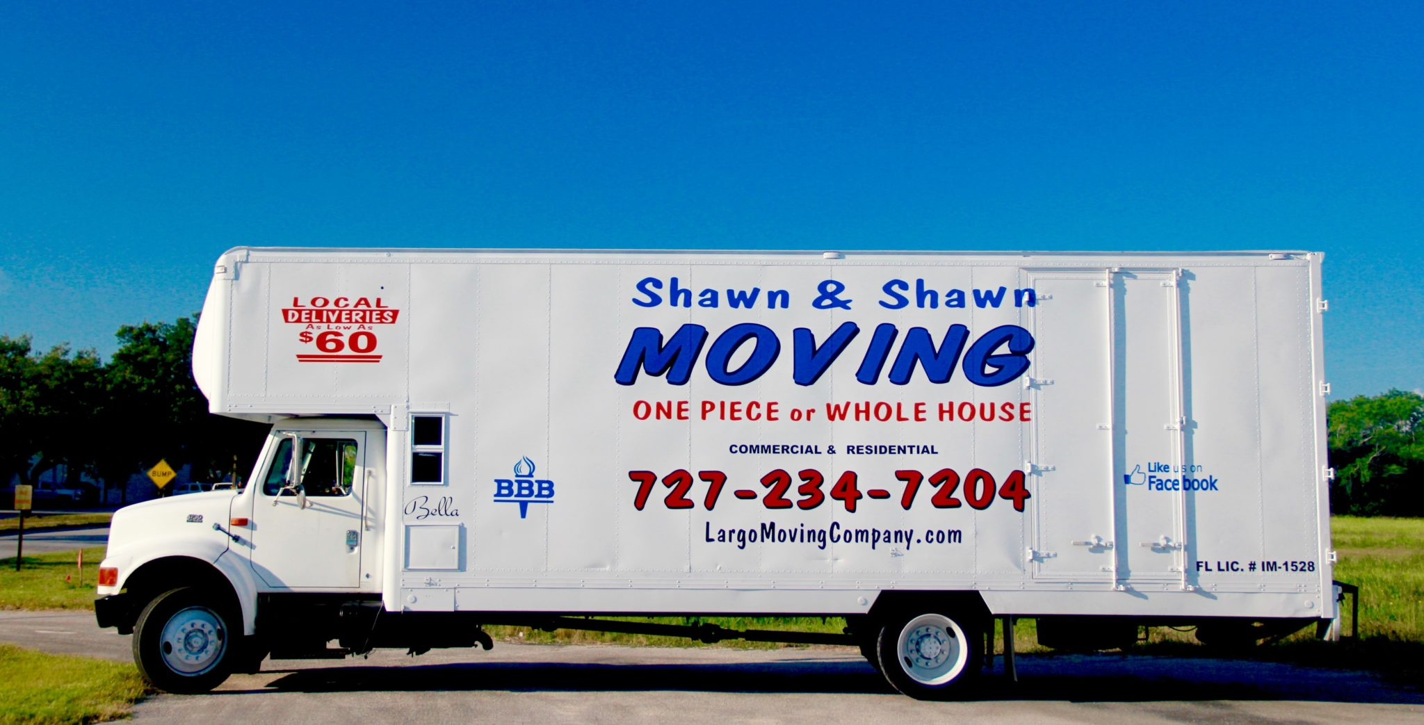 Local Delivers in Pinellas County, Florida Starting at $60 | Shawn & Shawn Moving Company | Delivery Services