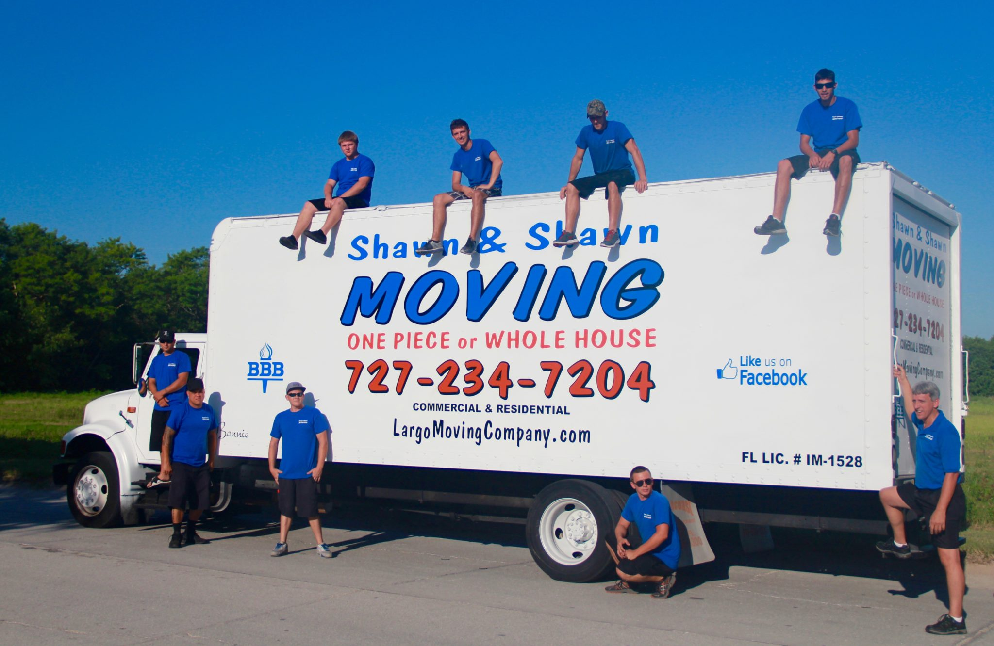 Kenneth City Movers | Shawn & Shawn Moving Company | Largo, Florida
