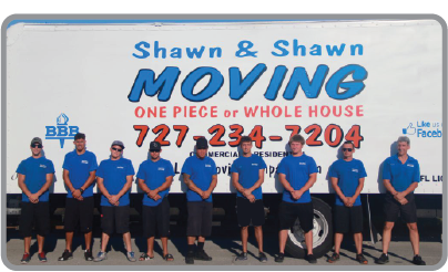 Shawn & Shawn Moving | Our Team | Pinellas County, Florida movers