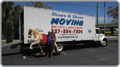 Shawn & Shawn Moving | Specialty Items | Pinellas County, Florida movers