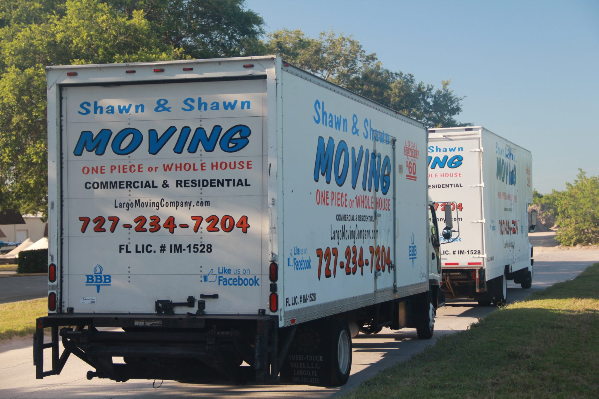 Indian Rocks Beach Movers | Shawn & Shawn Moving Company | Largo, Florida