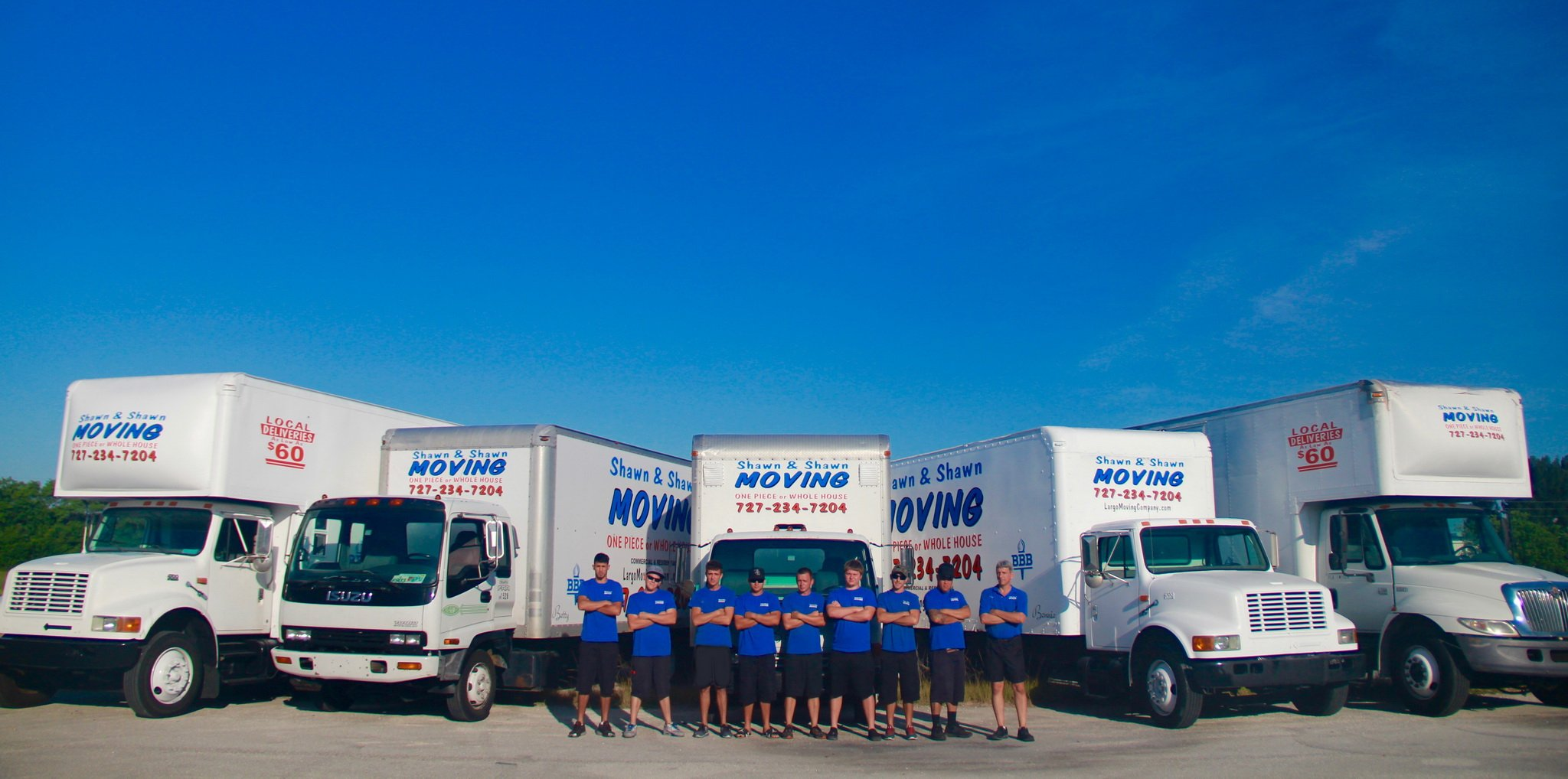 Shawn & Shawn Moving Company | PInellas County, Florida Movers
