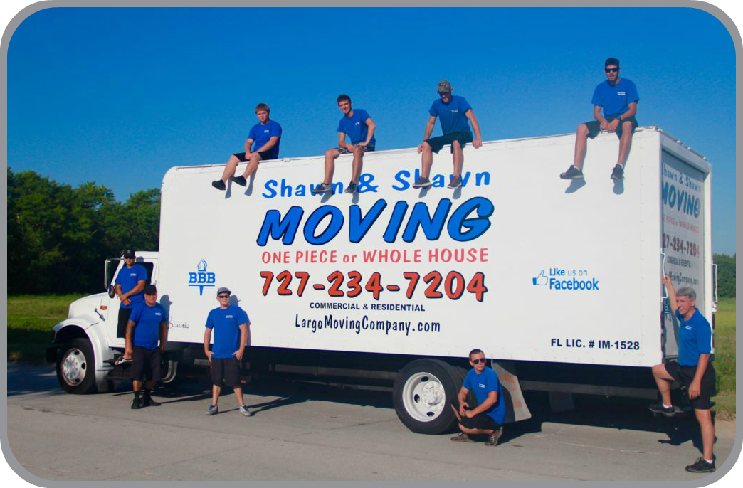About Shawn & Shawn Moving Company Pinellas County Florida Movers