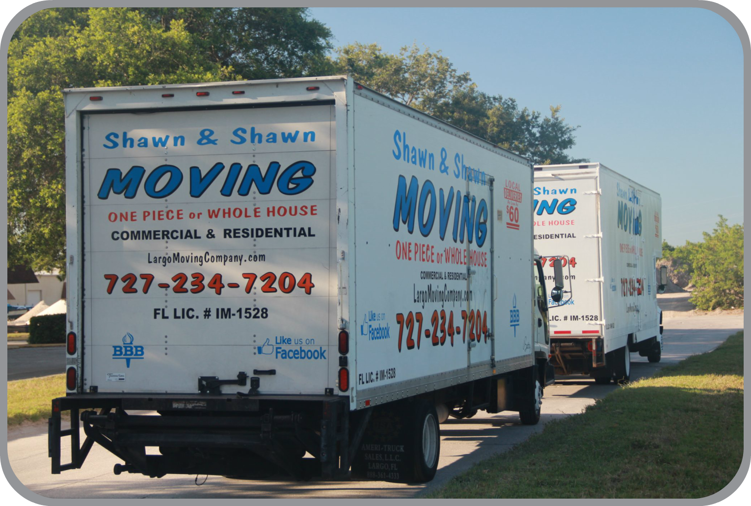 Clearwater Movers | Shawn & Shawn Moving company | Largo, Florida
