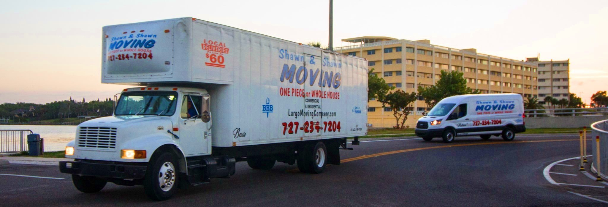 East Lake Movers | Shawn & Shawn Moving Company | Largo, Florida
